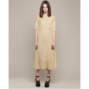 Suno hand embroidered dress S